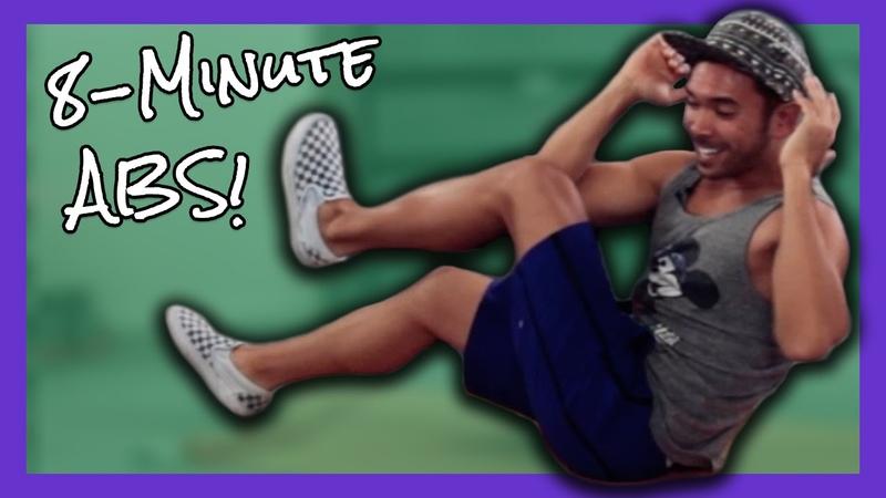8 Minute Intense Abs Workout Mike Donavanik MikeDFitness