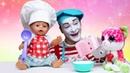 Видео игры - Вкусняшки для куклы БЕБИ БОН! - Детские игры готовить. Мультик для детей с Baby Born