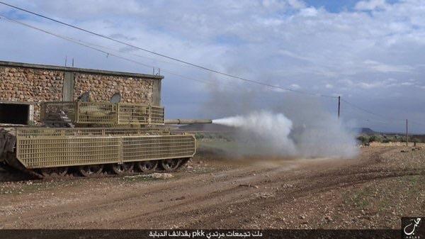 обстрел YPG