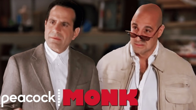 Stanley Tucci Makes an Appearance Monk