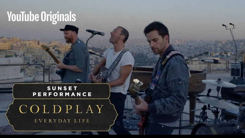 Coldplay Everyday Life Live in Jordan Sunset Performance