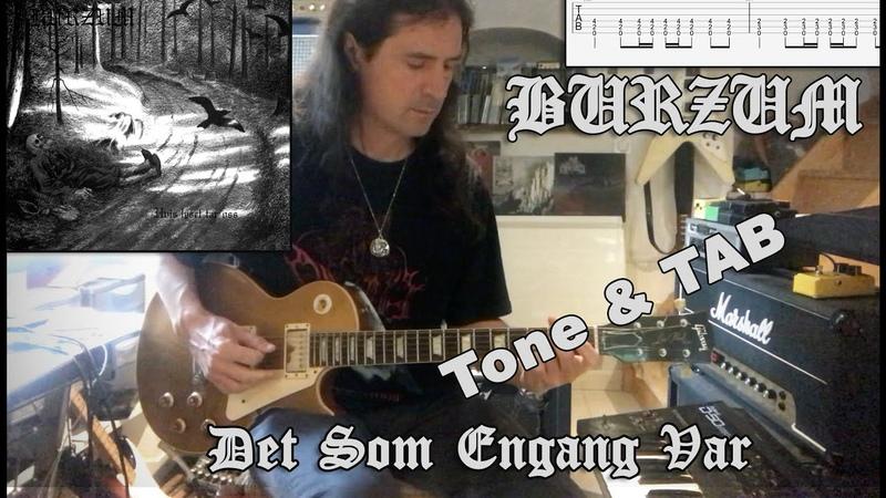 Burzum Det Som Engang Var Guitar Cover TAB