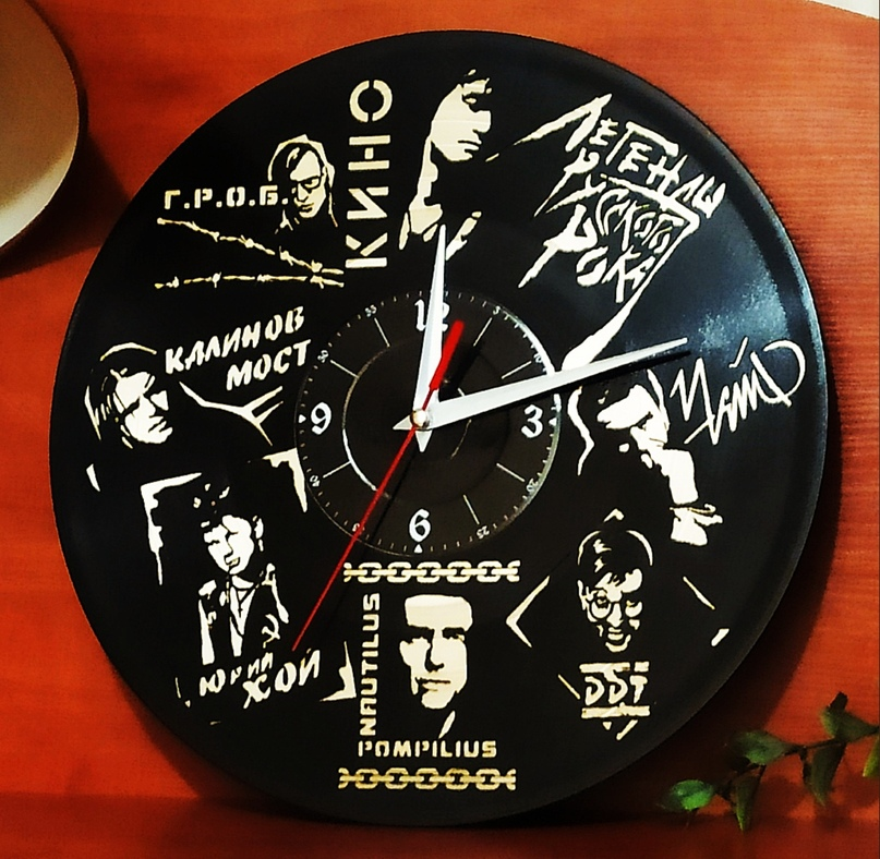 Эволюция изготовления часов и других изделий из виниловых пластинок, изображение №17