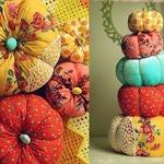 «Тыква» — декоративная подушка (МК)