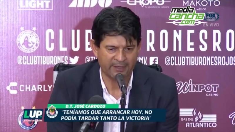 Era injusto que Chivas no ganara- Cardozo
