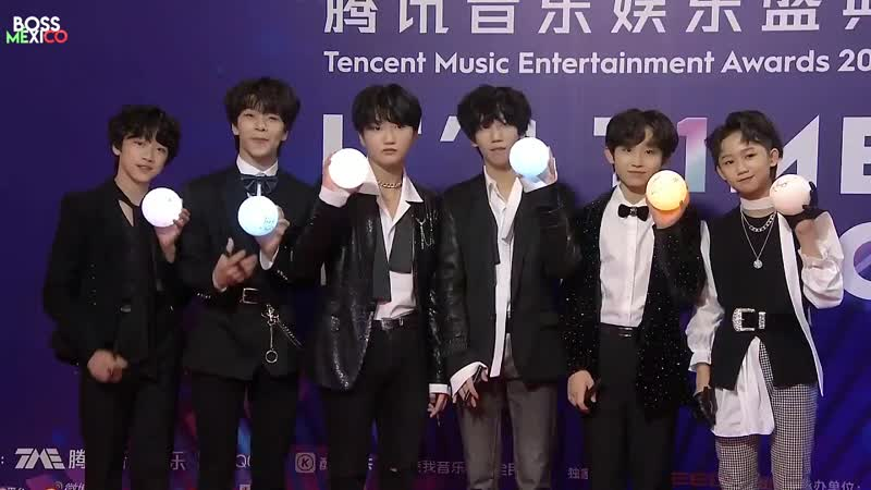 BOY STORY - TMEA 2019 (Red Carpet Award Too Busy) (Alfombra Roja Premio Too Busy). 191208