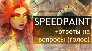 SPEEDPAINT Kizandi (real time 10h)