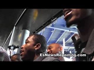 adrien broner and paulie malignaggi tense faceoff in NY - EsNews Boxing
