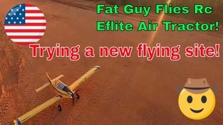 Trying out a new flying site by Fat Guy Flies Rc