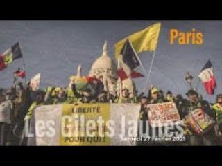 En direct: Les Gilets Jaunes partent vers le Sacré Cœur #Acte120 #Paris