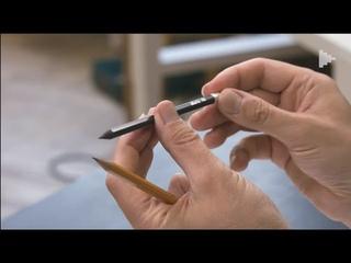 Разновидности простых карандашей для рисунка под акварель. Отрывок  курса  Сергея Курбатова.