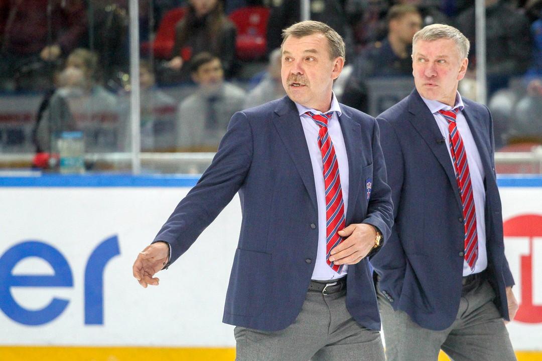 Олег Знарок и Владимир Федосов