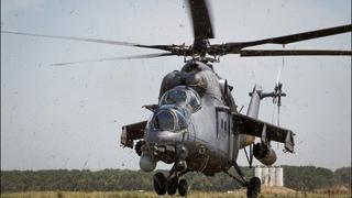 Спецназ и армейская авиация | Боевые вертолеты Ми35 огнем поддержали спецназовцев | Армия России ЮВО