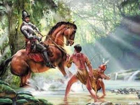 Конкистадоры 1 серия Битва богов