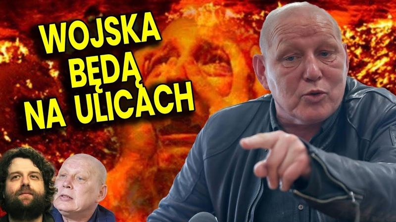 Wojska Będą na Ulicach Jeszcze w Tym Roku Przepowiednia Jasnowidz Jackowski u Atora Analiza Film
