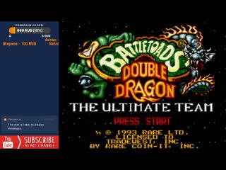 Battletoads & Double Dragon Прохождение