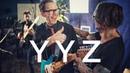 Martin Miller Paul Gilbert - YYZ Rush Cover - Live in Studio
