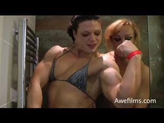 oana hreapca and Rita Sargo Shower  part 1