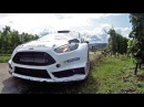 Elfyn Evans Ford Fiesta RS WRC Test Rallye Deutschland 2014