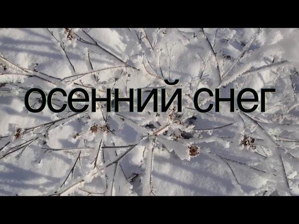 Осенний снег первый снег в октябре муз Олег Сапегин стихи Галина Хлебникова