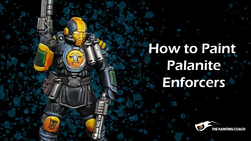How to Paint Palanite Enforcers for Necromunda