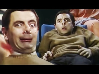 Scary MOVIE  | Funny Clips | Mr Bean Official