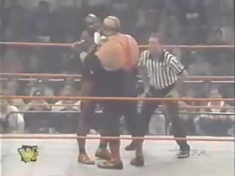 Vader vs Ahmed Johnson Raw 05 26 97