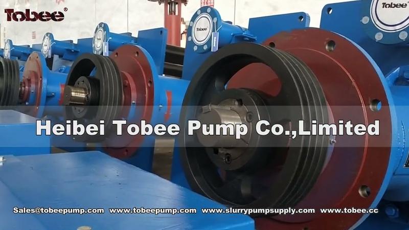 Rubber Vertical Pump 100 RV SPR pumps with Submerged depth 1800mm