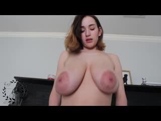 AuroraXoxo - Pervy Bro Makes My Tits Grow [Big Tits]