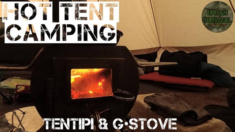 [Хроники Урбана] Кемпинг в Лесу с Друзьями | Палатка и Печь • Hottenting | Tentipi GStove