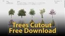 Free Cutout Trees Meye