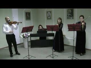 «Концерт для скрипки соль мажор» 1 часть. А.Вивальди – ансамбль камерной музыки «Камертон»