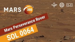 Mars360: First  of Mars by NASA's Perseverance Rover (360 video 8K)