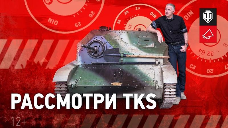 Рассмотри TKS В командирской рубке