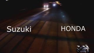 Suzuki Gsx-r 1100 VS Honda cbr 600rr