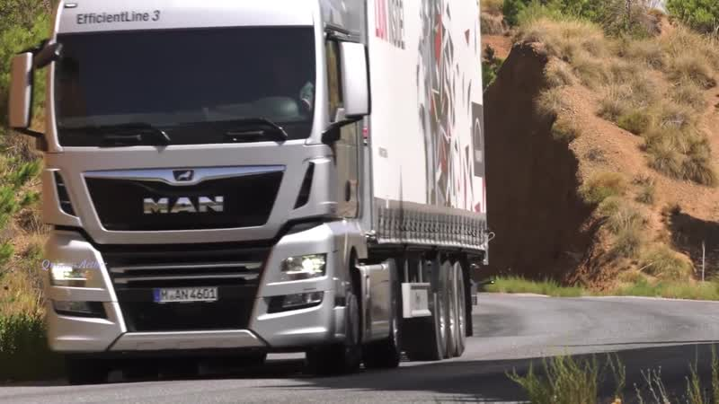Music clip Italo Disco Mix MAN Truck