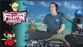 Them's Fightin' Herds - Paprika's Theme On Drums!