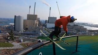 GoPro: Jesper Tjäder - CopenHill   Skiing On Top a Building