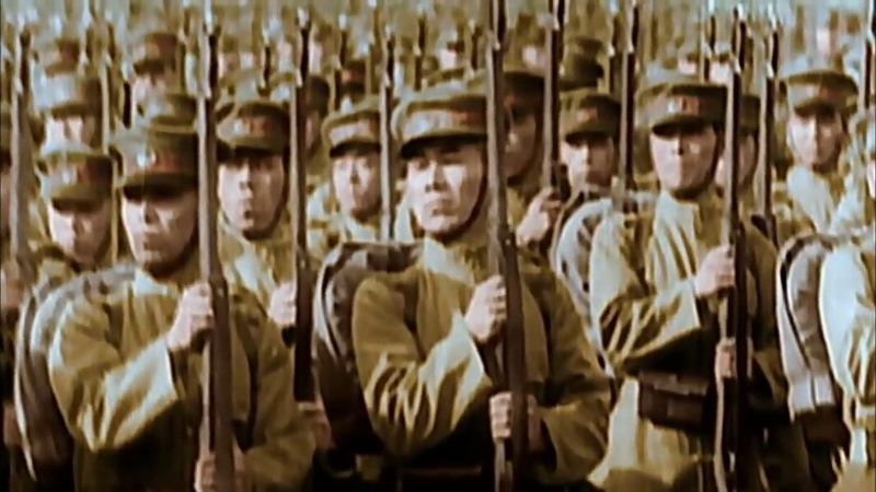 Вторая мировая война в цвете Надвигающаяся буря