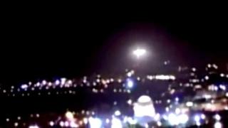 UFO over Temple Mount in Jerusalem
