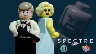 LEGO Spectre - James Bond Train Scene