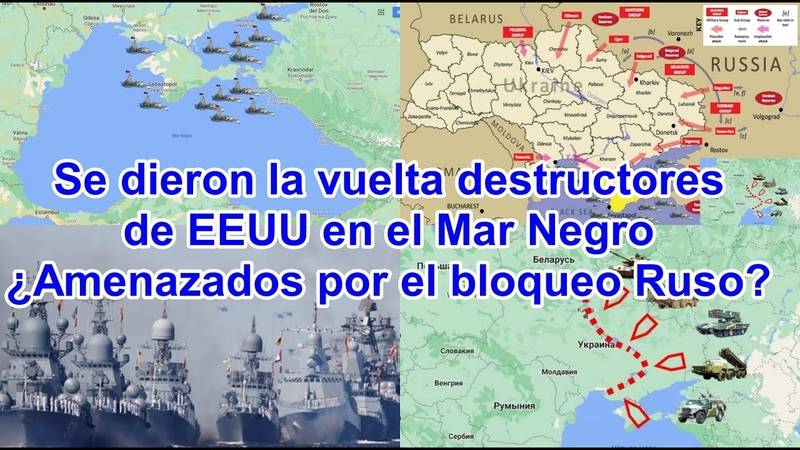 Rusia cierra el Mar Negro hacia el Estrecho de Kerch durante 6 meses a buques de guerra extranjeros