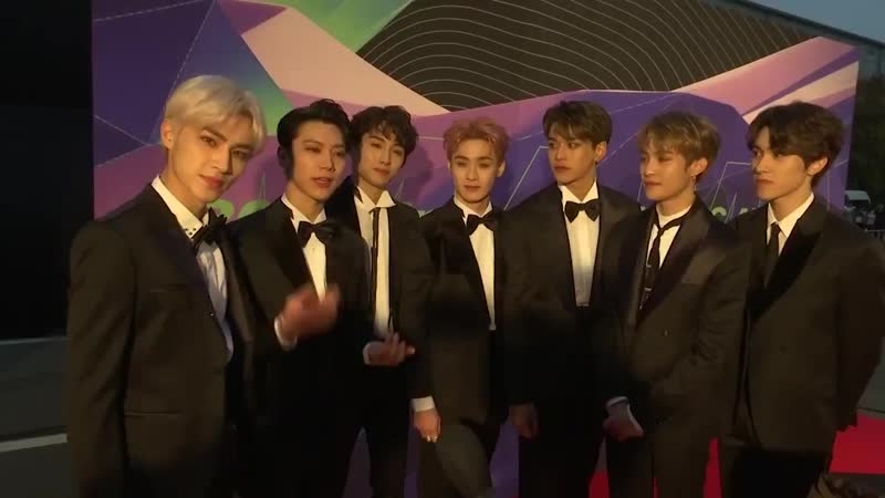 NO BOX FOR WAYV On the red carpet at @MnetMAMA, Ten explains why winners WayV @WayV_offici