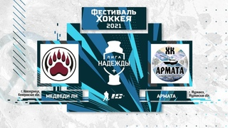 Медведи ЛН (Новокузнецк) – Армата (Мурманск)   Лига Надежды ()