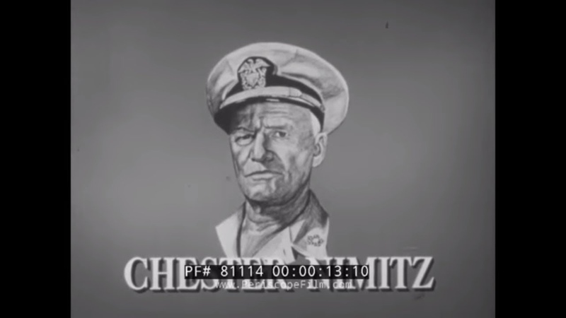 THE CHESTER NIMITZ STORY U.S. NAVY WORLD WAR II PACIFIC CAMPAIGN 80104