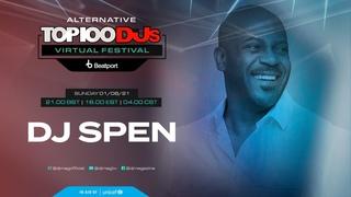 DJ Spen live for the Alternative #Top100DJs virtual festival powered by @beatport