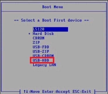 Обход пароля Windows при помощи USB флешки с Kon-Boot, изображение №10